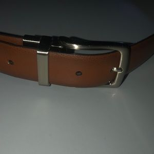 Perry Ellis FLIP black brown belt